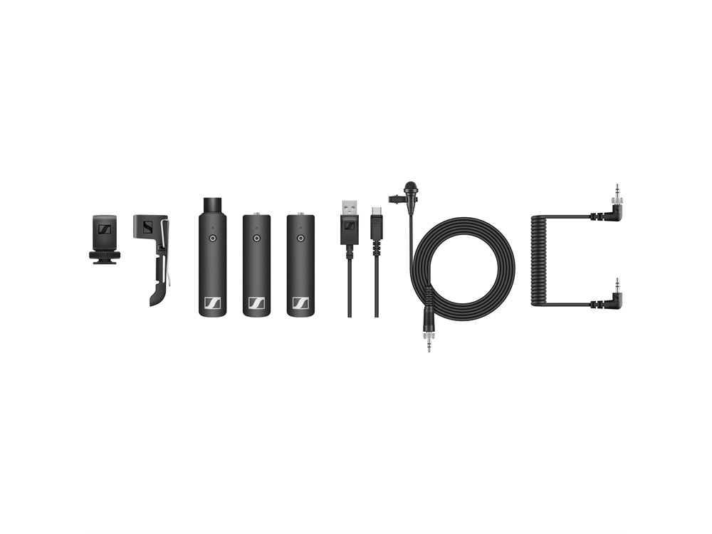 Sennheiser XSW-D PORTABLE ENG SET Digital Camera-Mount Wireless Combo Microphone System (2.4 GHz)