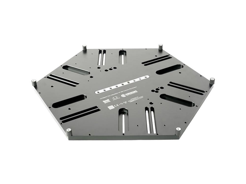 Cinegears 7-002 Baseplate for Hex VR/360 Capture Rig