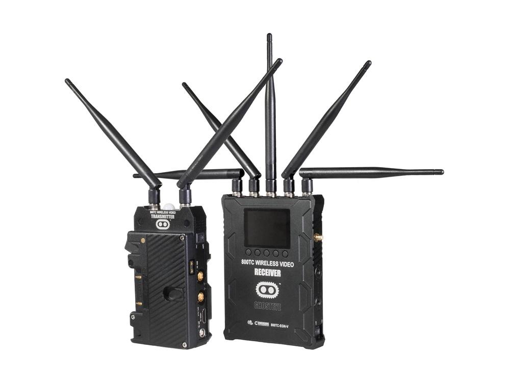 Cinegears 800TC ENG Ghost Eye Wireless HD SDI Video Transmission Kit (G-Mount)