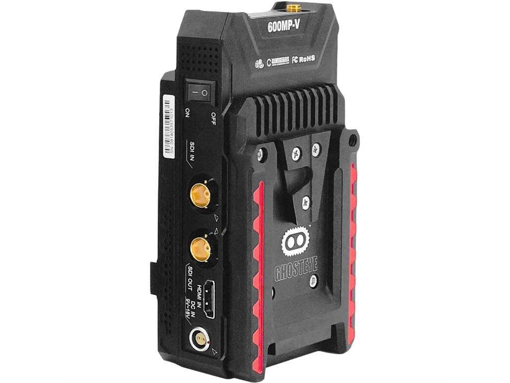 Cinegears 6-638 Ghost-Eye Wireless 600MP ENG HD/SDI Video Transmitter (V-Mount)