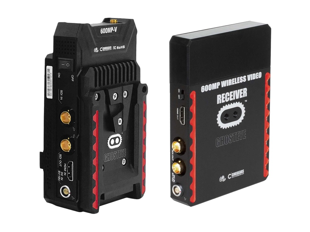 Cinegears 6-637 Ghost-Eye 600MP Wireless Transmitter and Receiver Kit (V-Mount/L-Series)