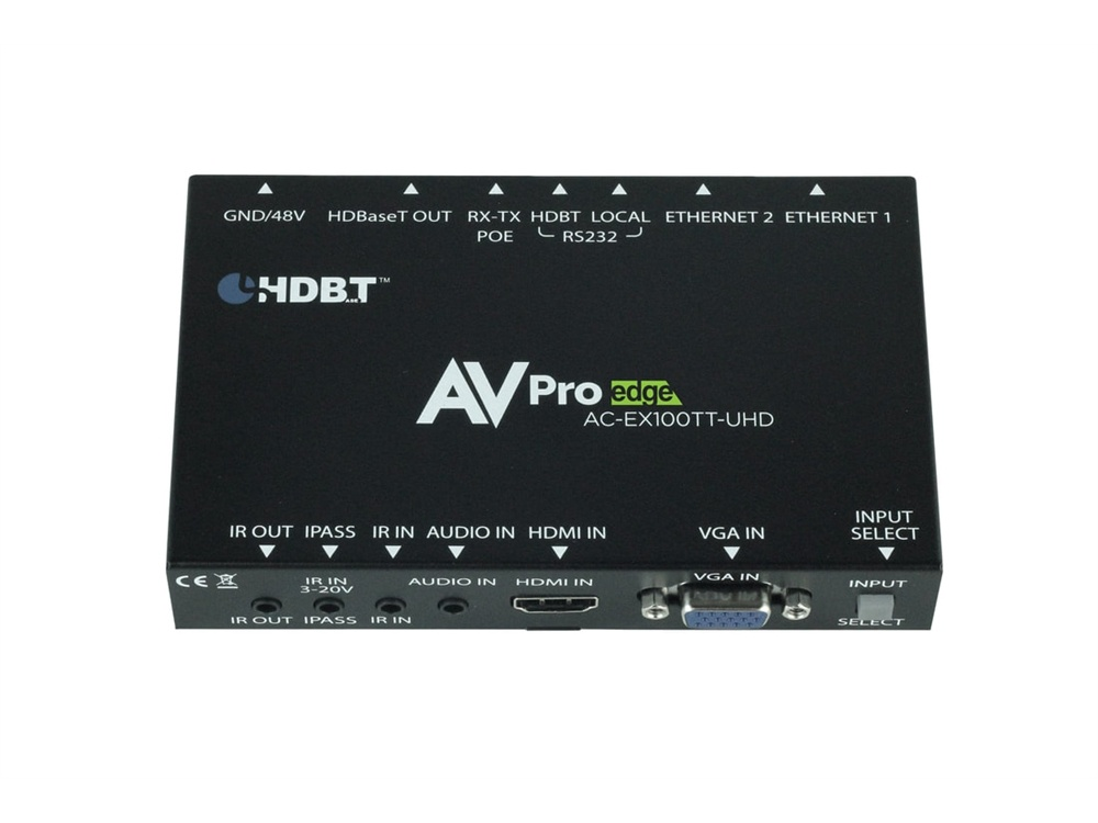 AVPro Edge Auto-Switching HDBaseT Table Top Transmitter