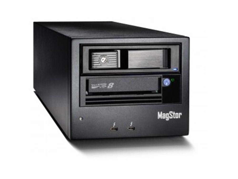 MagStor LTO8 12TB Thunderbolt 3 Tape Drive LTO-8 with Quantum LTFS for MAC (free)