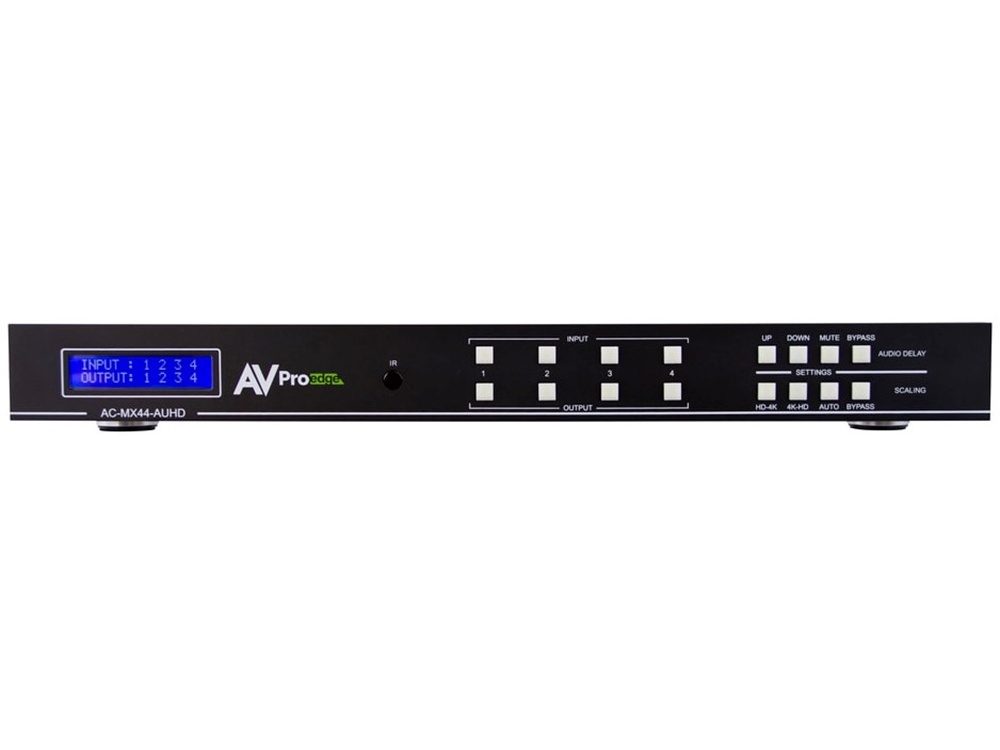 AVPro Edge 4K/60 4x4 HDMI Matrix Switcher