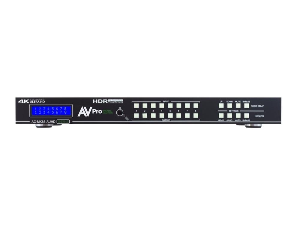 AVPro Edge 4K/60 8x8 HDMI Matrix Switcher