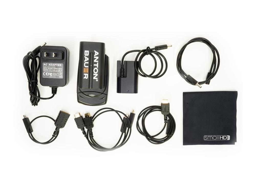 SmallHD FOCUS 5 Canon LP-E6 Accessory Pack