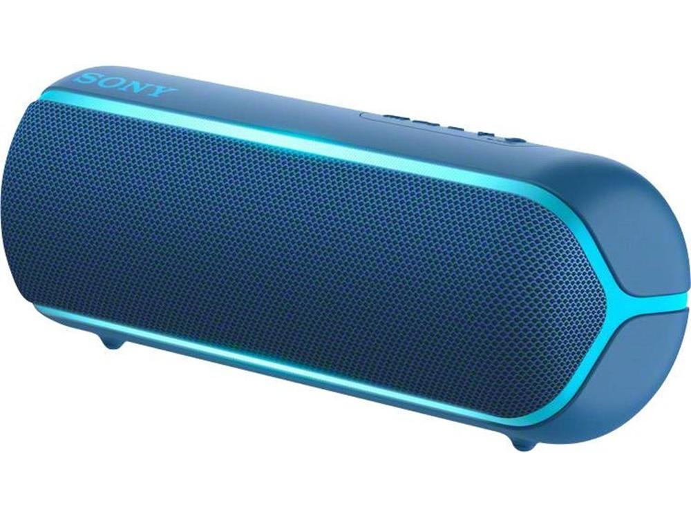 Sony SRS-XB22 Extra Bass Portable Bluetooth Speaker (Blue)