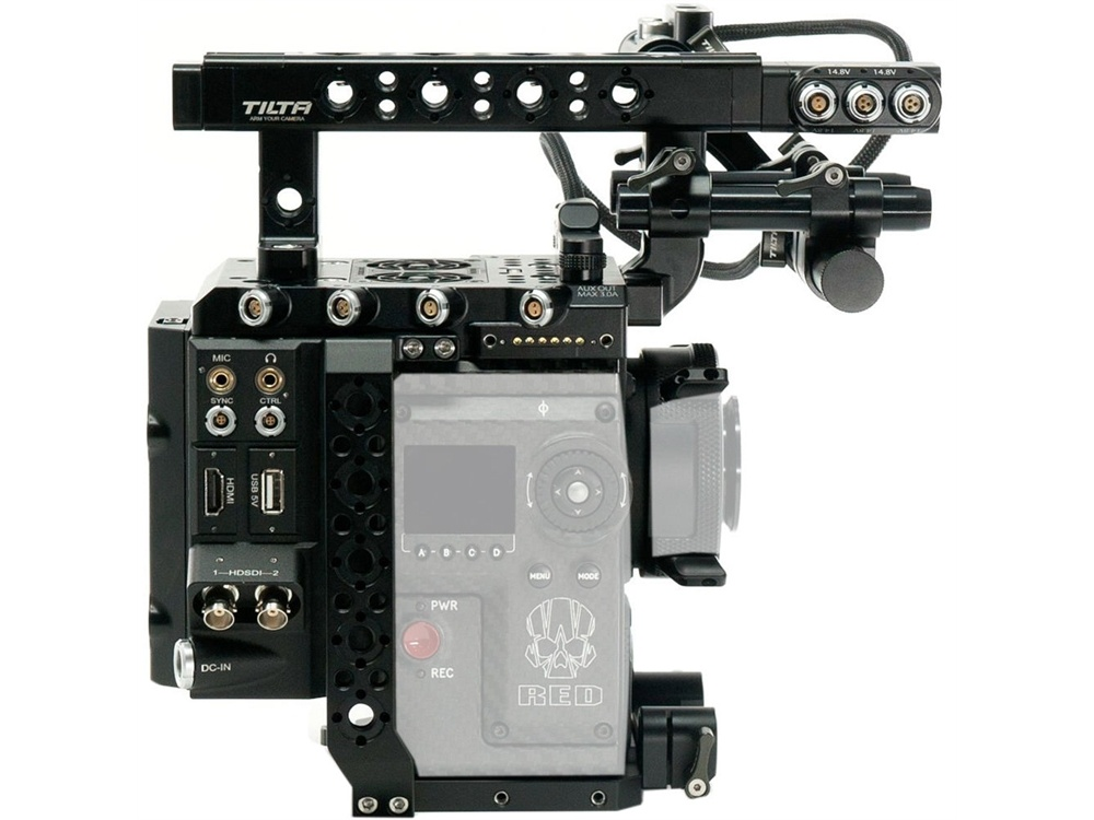 Tilta ESR-T01-A1 Camera Rig For Red DSMC2 Kit A1 (Gold Mount)