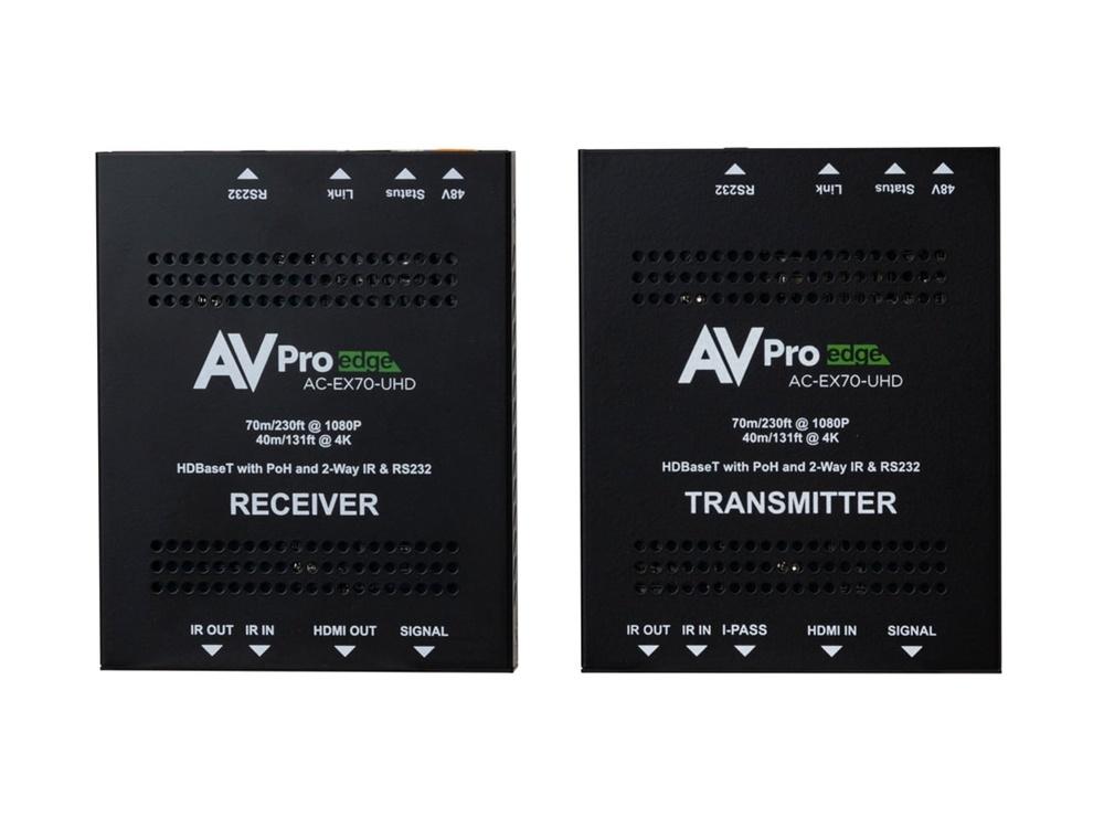 AVPro Edge AC-EX70-UHD-KIT Extender with Bi-Directional Power