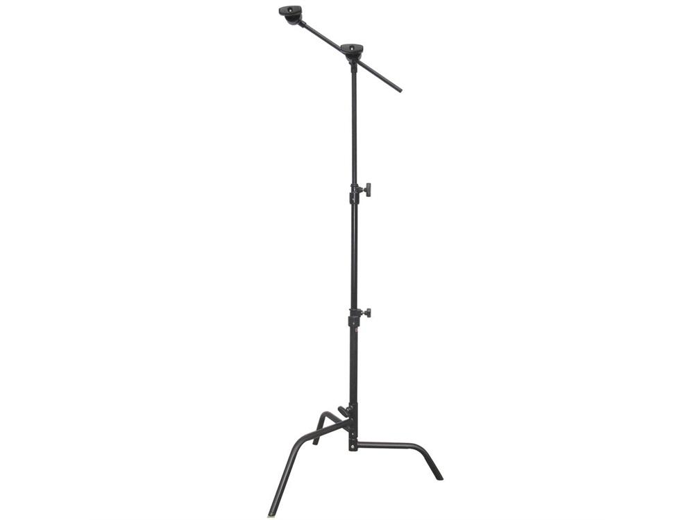 Matthews Hollywood 50cm C-Stand with Sliding Leg Grip Head and Arm 1.6m (Black)