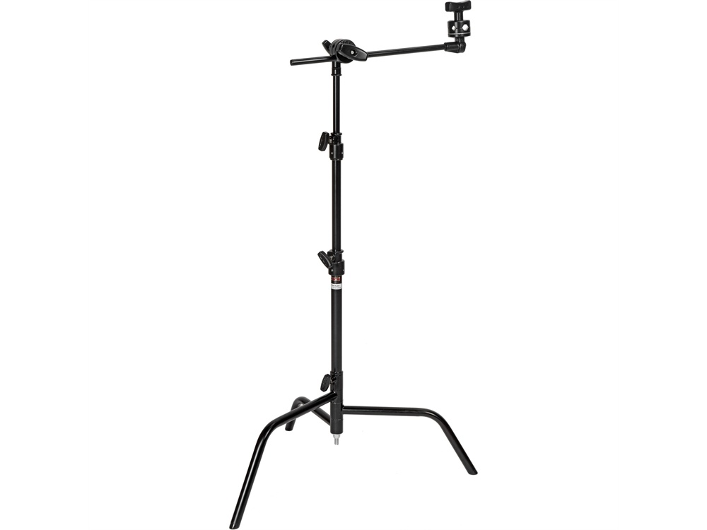 Matthews 50cm C+ Stand with Turtle Base, Grip Head and Arm Kit (Black)