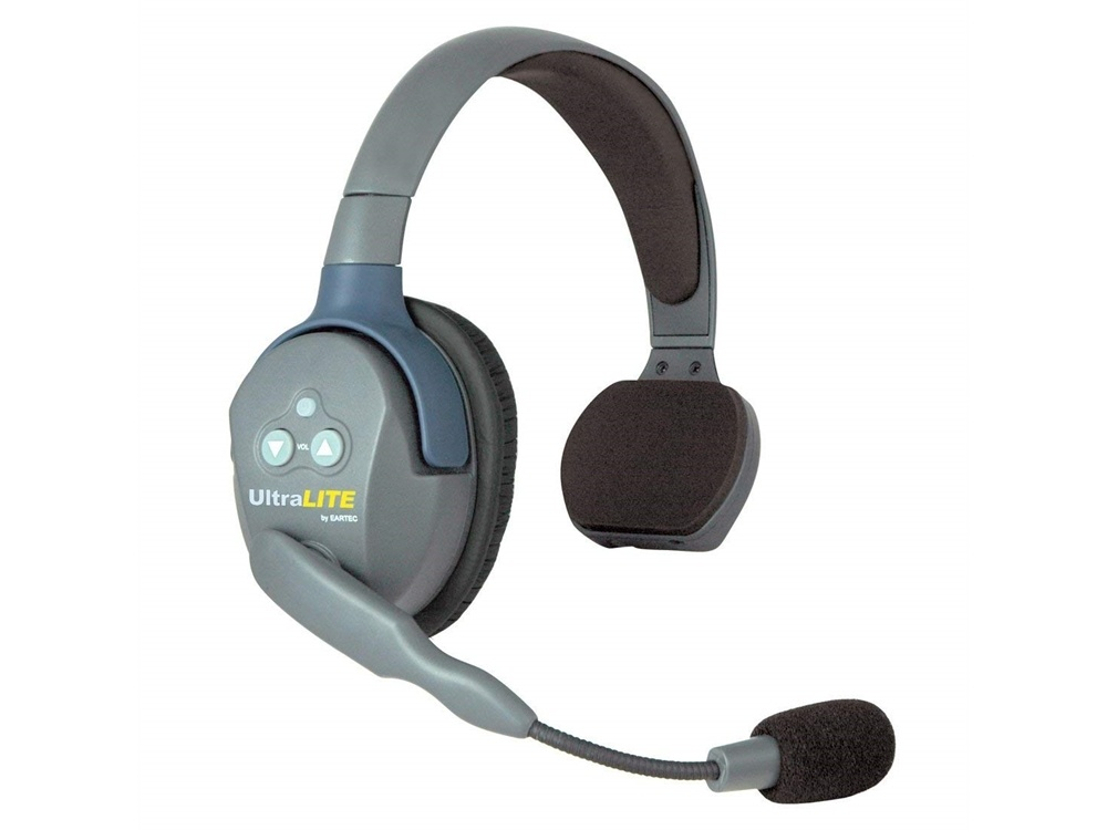 Eartec ULSR UltraLITE Single-Ear Remote Headset with Rechargeable Lithium Battery (Classic)