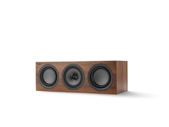 KEF Q250CWAL Centre Channel Speaker (Walnut)