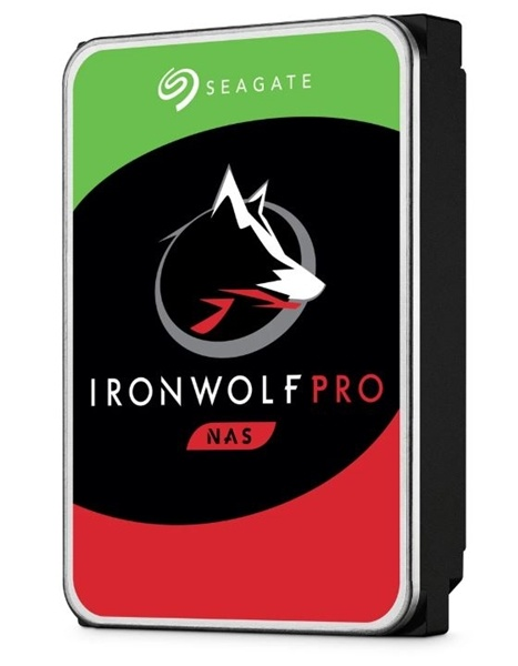 "Seagate IronWolf Pro SATA 3.5"" 7200RPM 128MB 4TB NAS HDD"