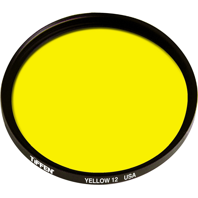 Tiffen 12 Yellow Filter (55mm)