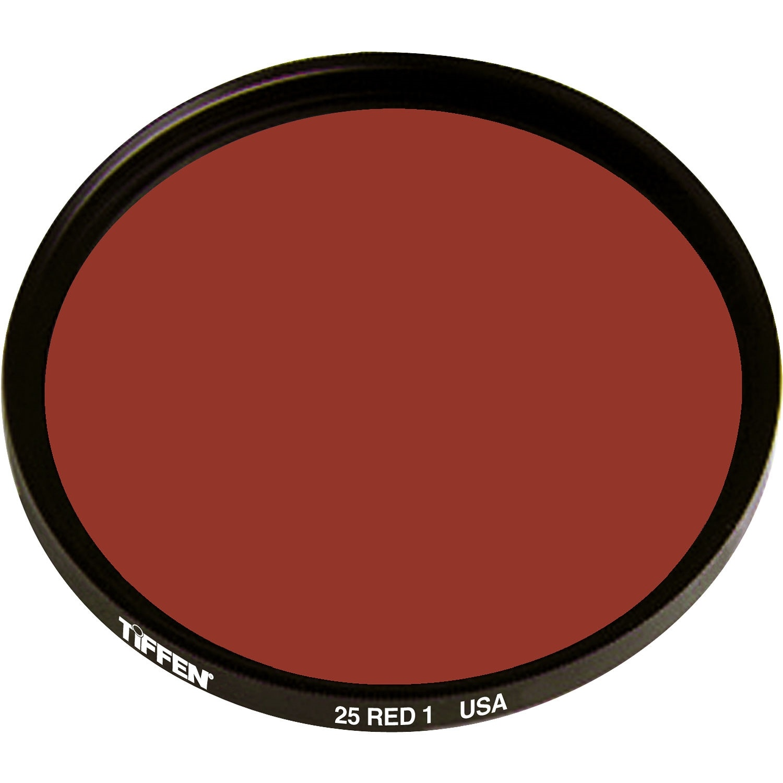Tiffen 25 Red Filter (62mm)