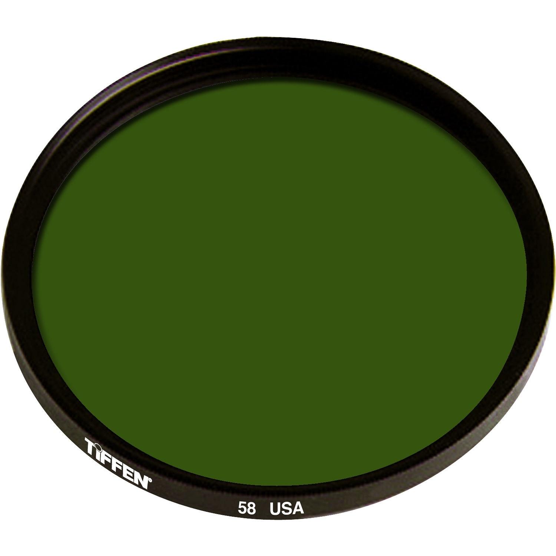 Tiffen 49mm Green 58 Glass Filter for Black & White Film