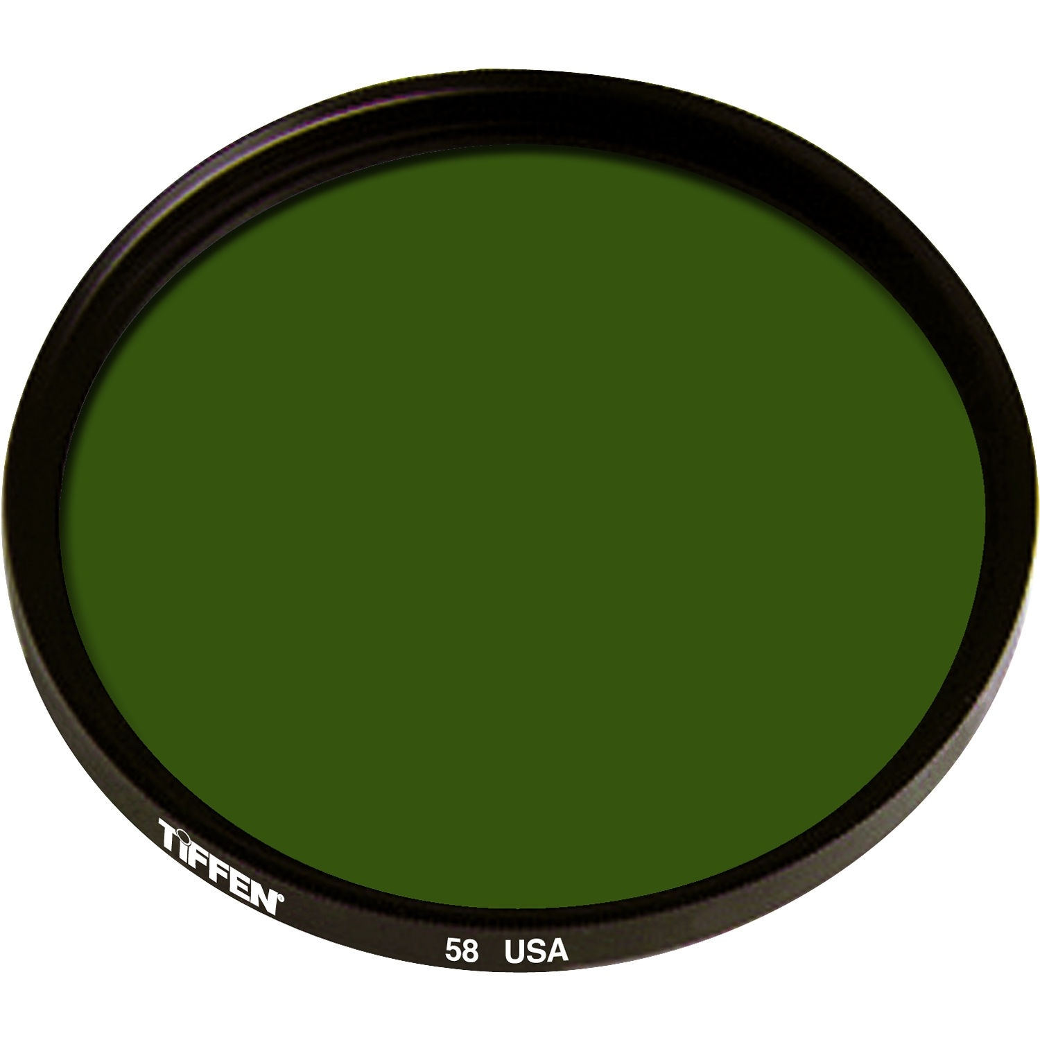 Tiffen 62mm Green 58 Glass Filter for Black & White Film