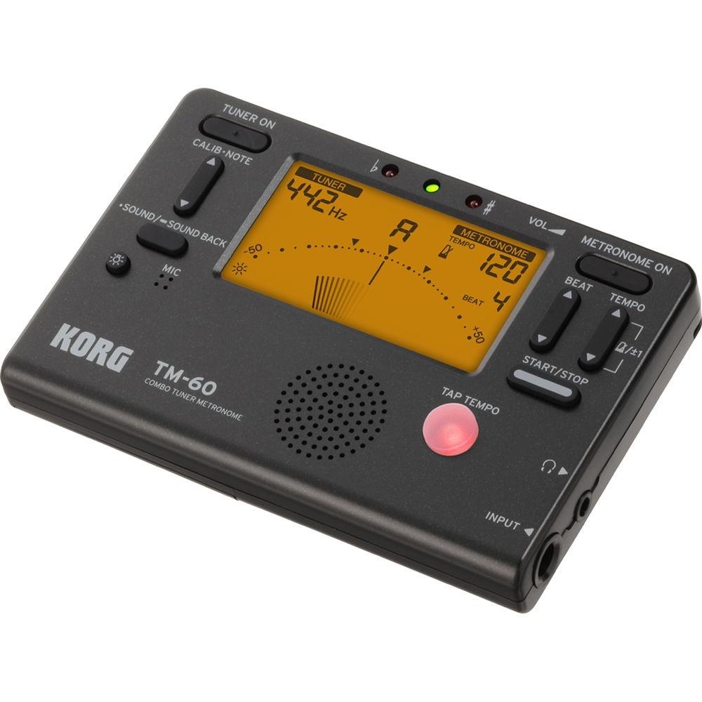 Korg TM-60 Combo Tuner Metronome (Black)