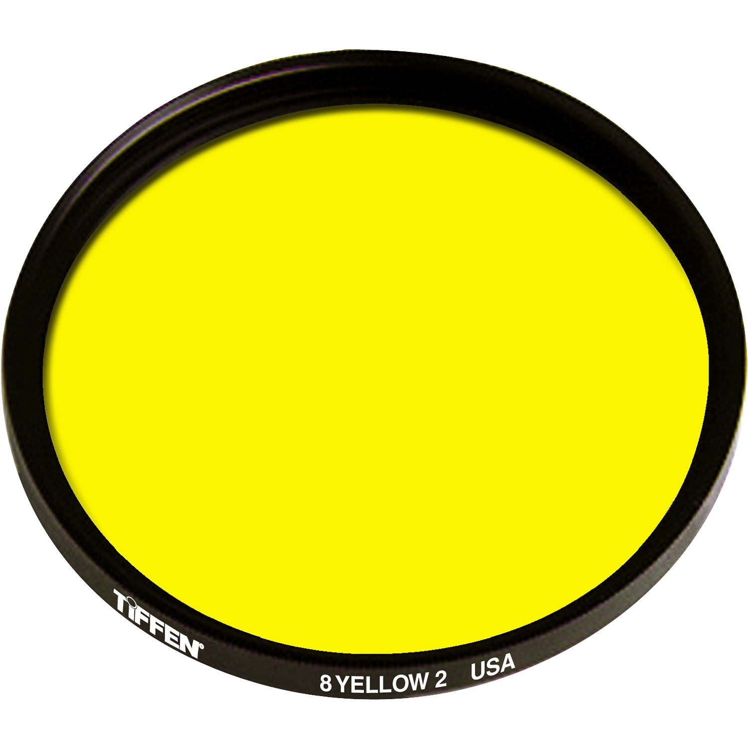 Tiffen 49mm Yellow 2 8 Glass Filter for Black & White Film