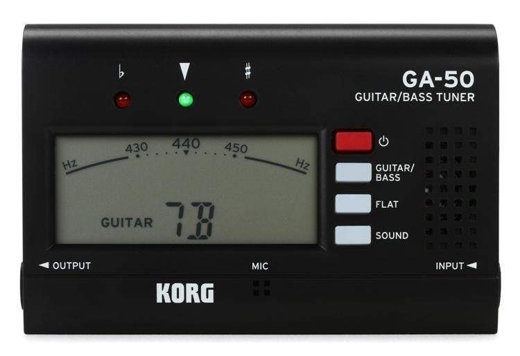 Korg GA50 Guitar & Bass Chromatic Tuner