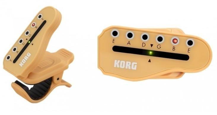 Korg HT-G1 Clip-On Guitar Tuner 6 In-Line