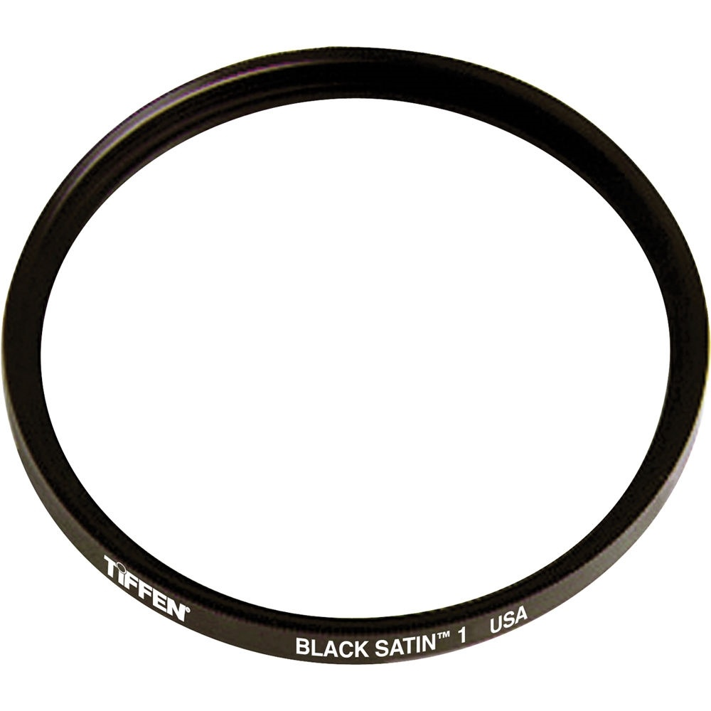 Tiffen 49mm Black Satin 1 Filter