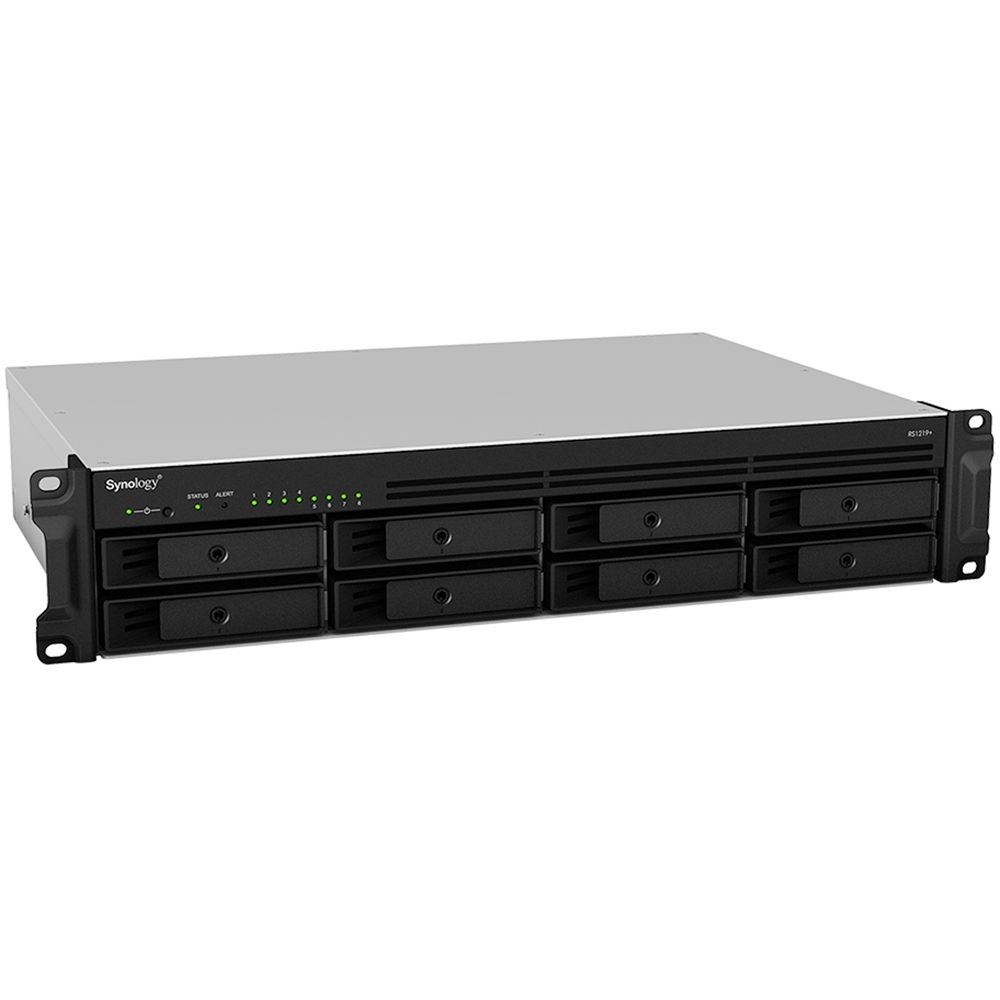 Synology RackStation RS1219+ 80TB 8-Bay NAS Enclosure