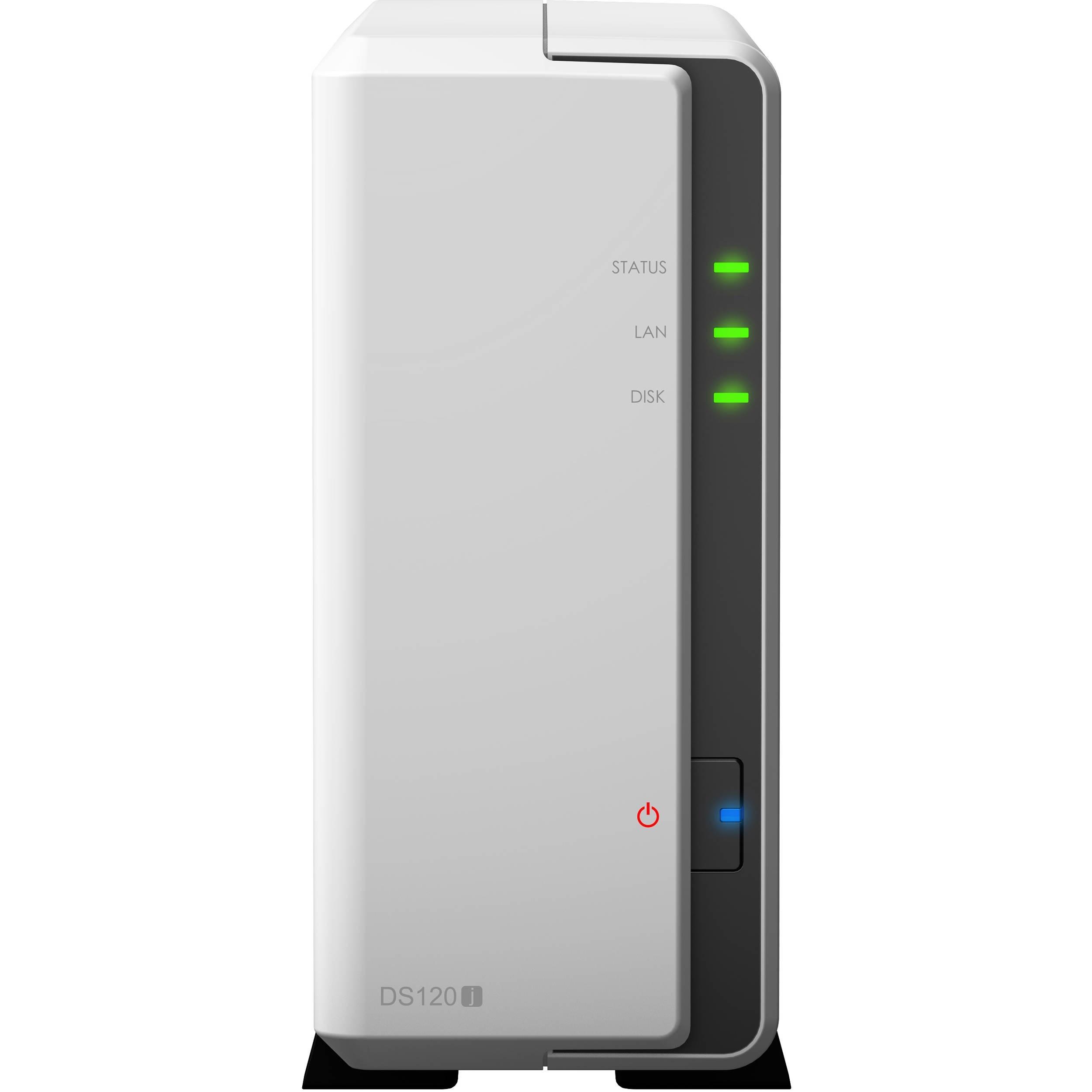 Synology DiskStation 3TB DS120j 1-Bay NAS Enclosure