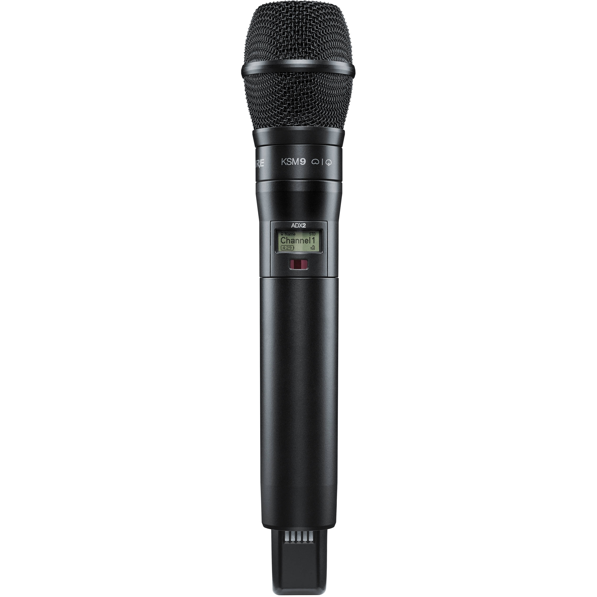 Shure ADX2/K9B Digital Handheld Wireless Microphone Transmitter with KSM9 Capsule