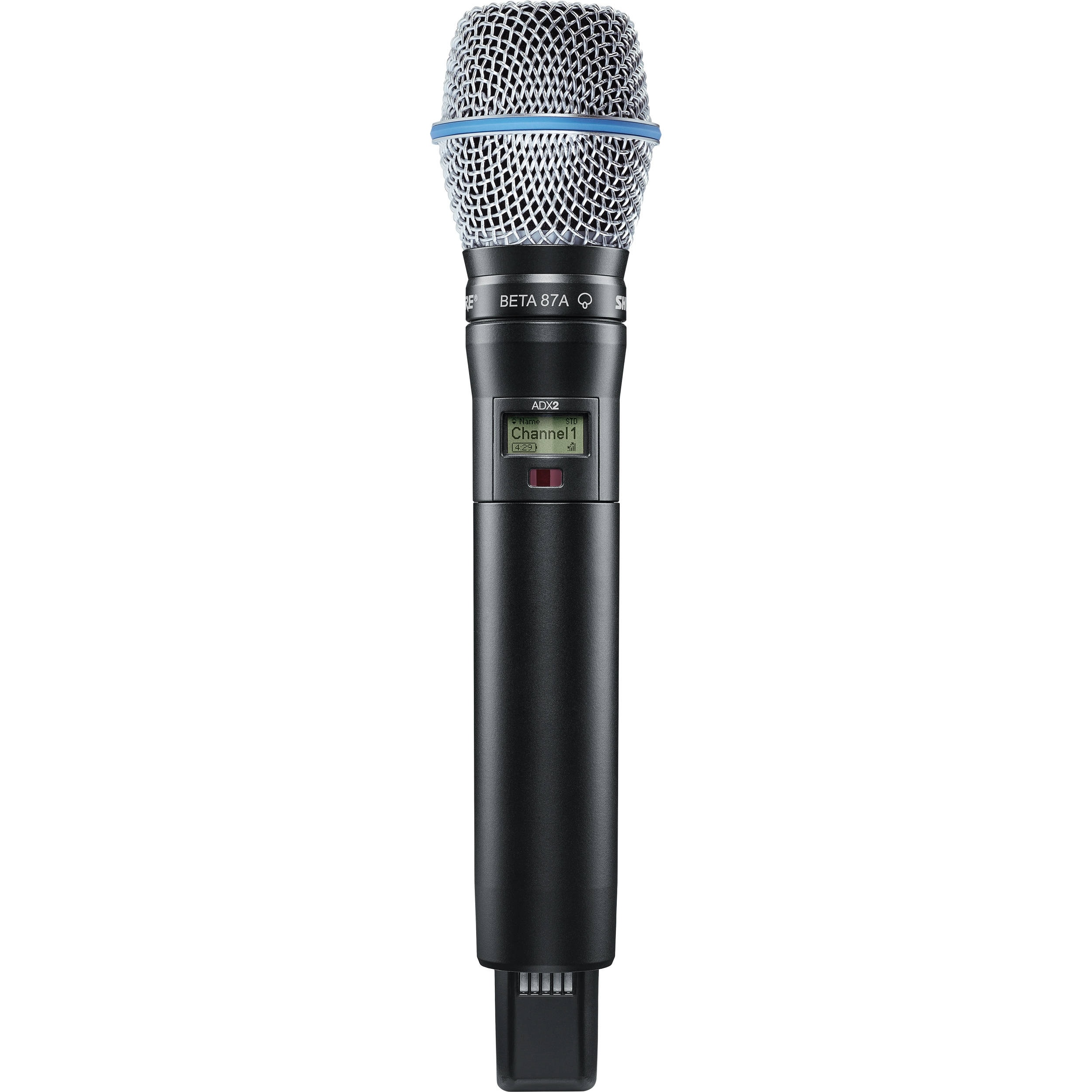 Shure ADX2/B87A Digital Handheld Wireless Microphone Transmitter with Beta 87A Capsule
