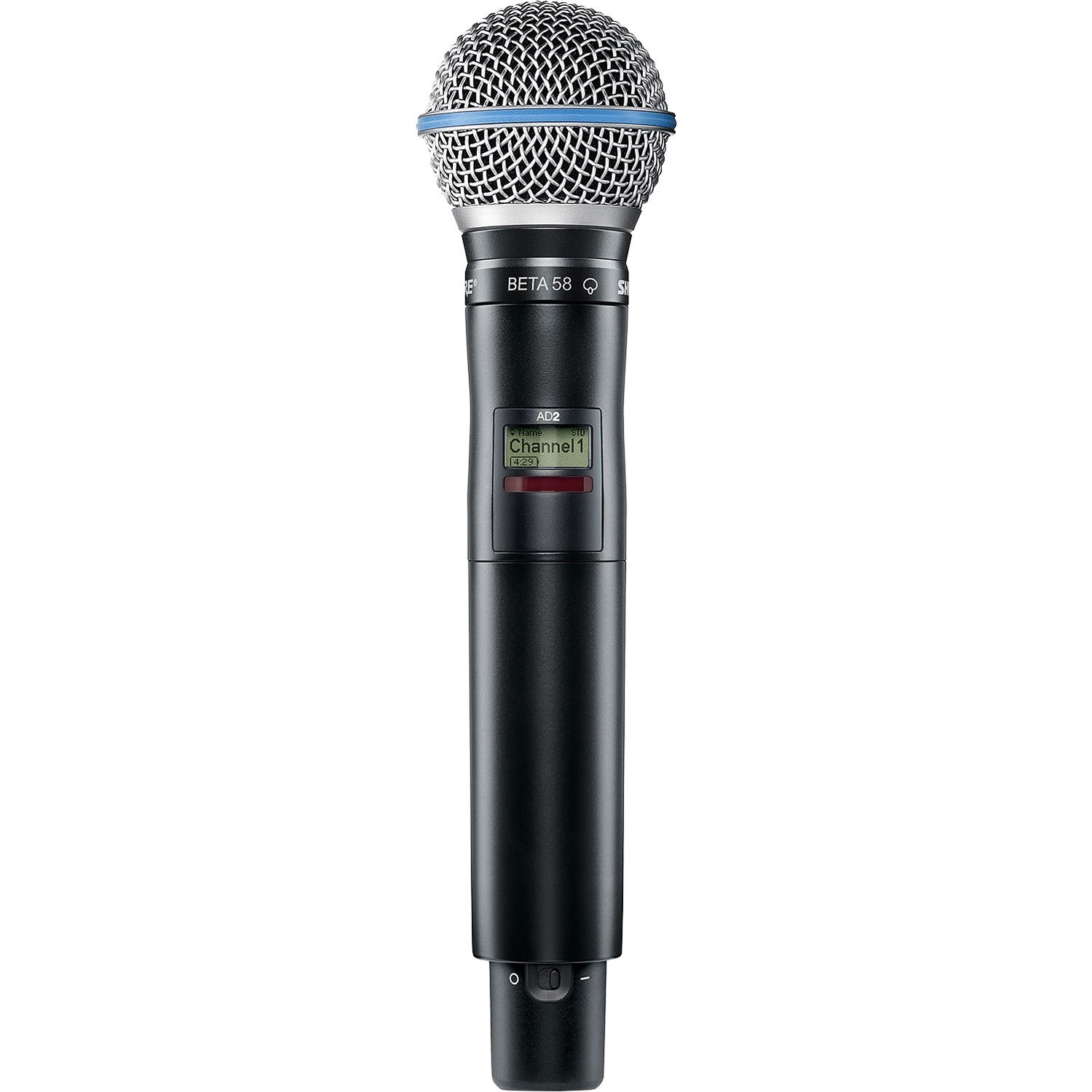 Shure AD2/B58 Digital Handheld Wireless Microphone Transmitter with Beta 58A Capsule