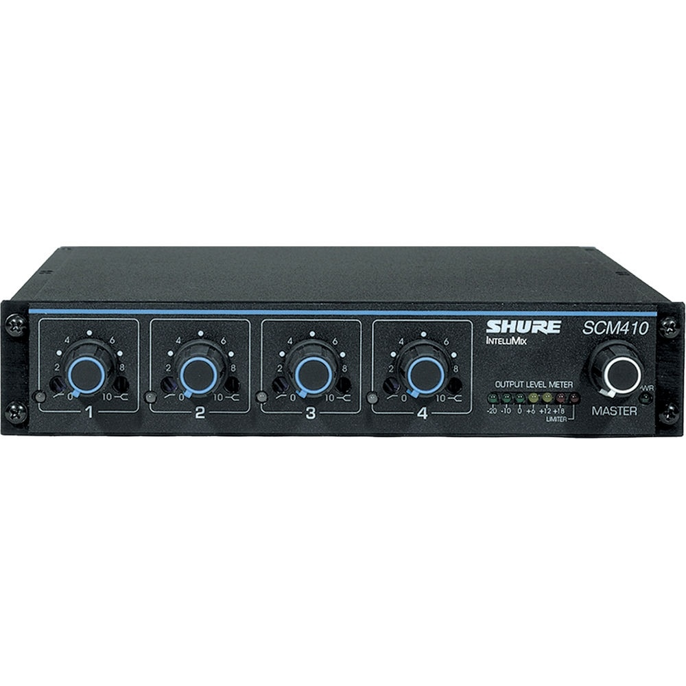 Shure SCM410 4 Channel Automatic Mixer