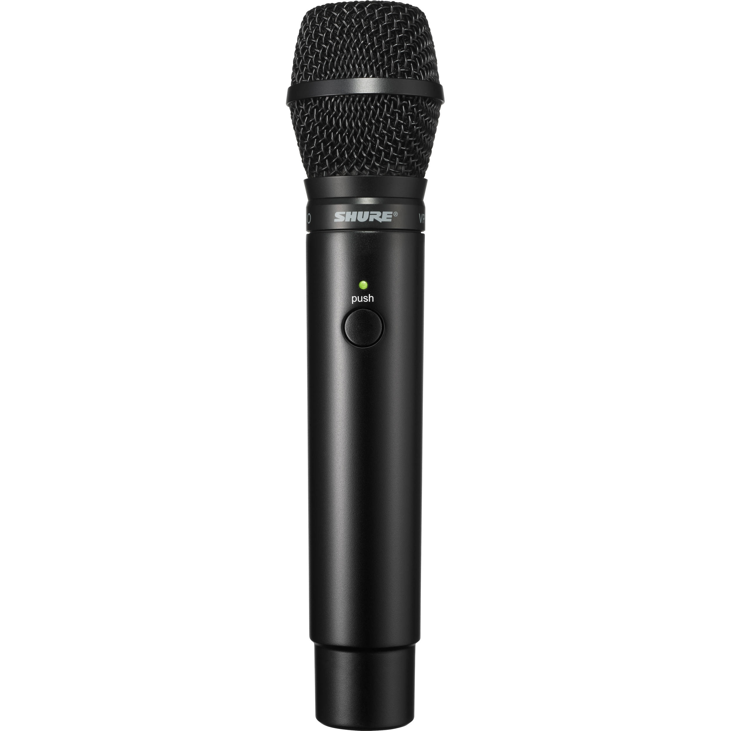 Shure MXW2 Handheld Transmitter with VP68 Microphone Capsule