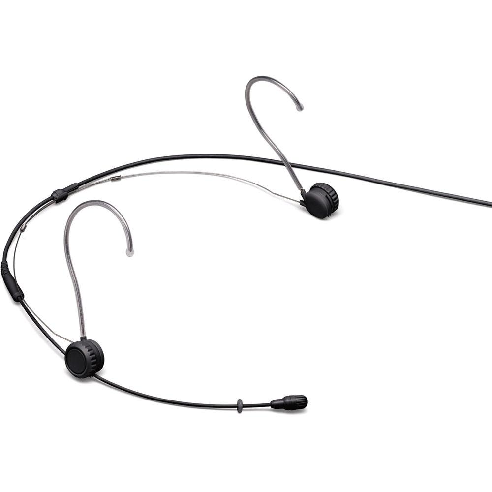 Shure TwinPlex TH53 Omnidirectional Headset Microphone (LEMO, Black)