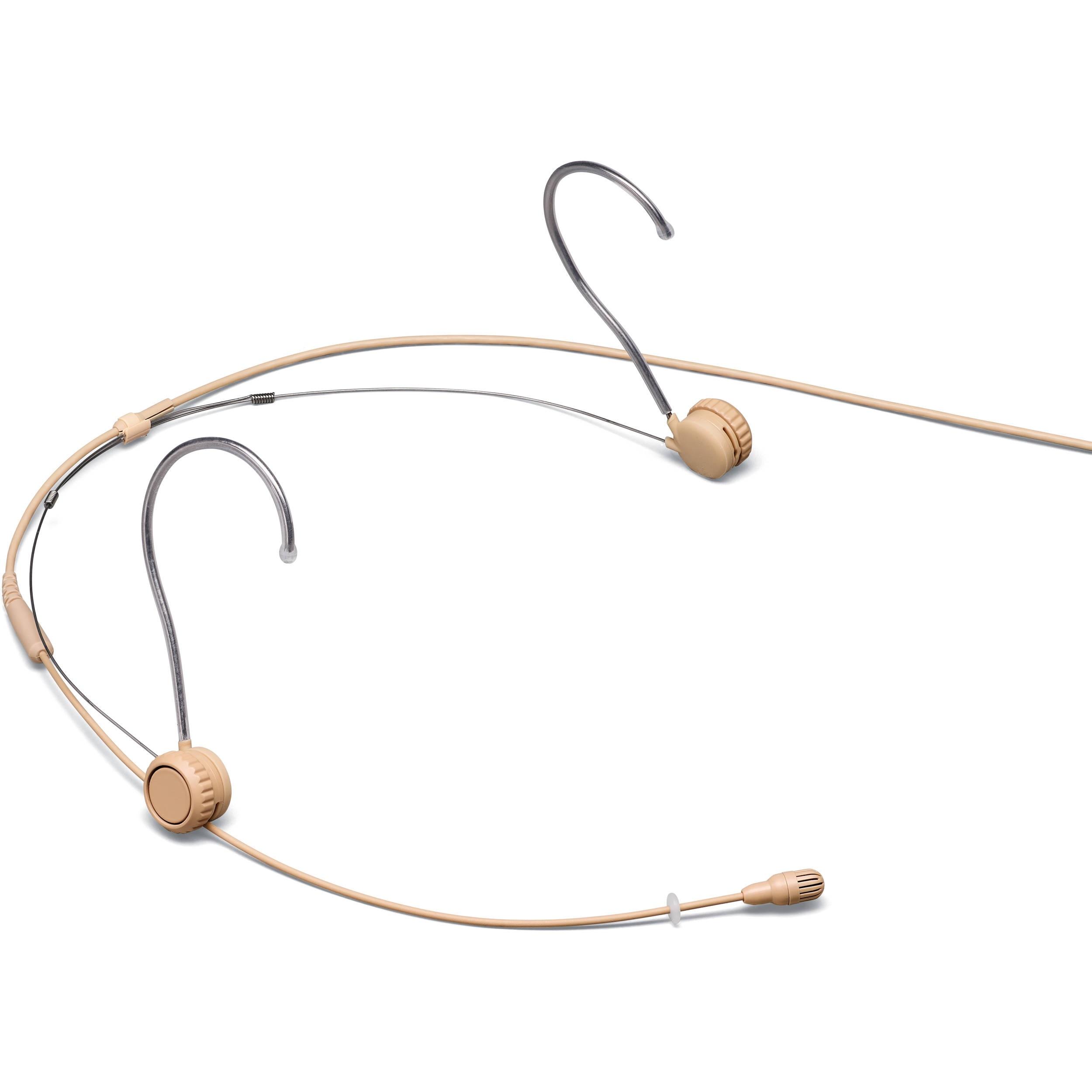 Shure TwinPlex TH53 Omnidirectional Headset Microphone (TA4F, Tan)
