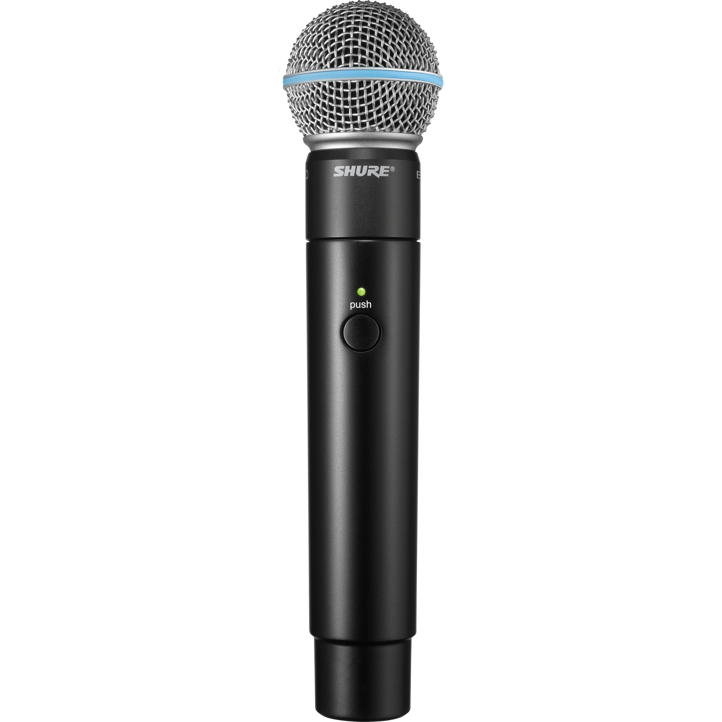Shure MXW2 Handheld Transmitter with Beta 58A Microphone Capsule