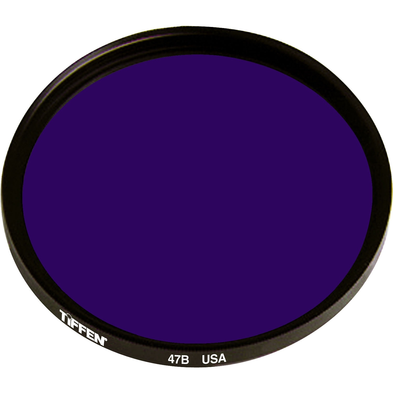 Tiffen 55mm Deep Blue 47B Color Balancing Filter