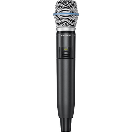 Shure GLXD2/B87 Digital Wireless Handheld Microphone Transmitter with Beta 87A Capsule (2.4 GHz)