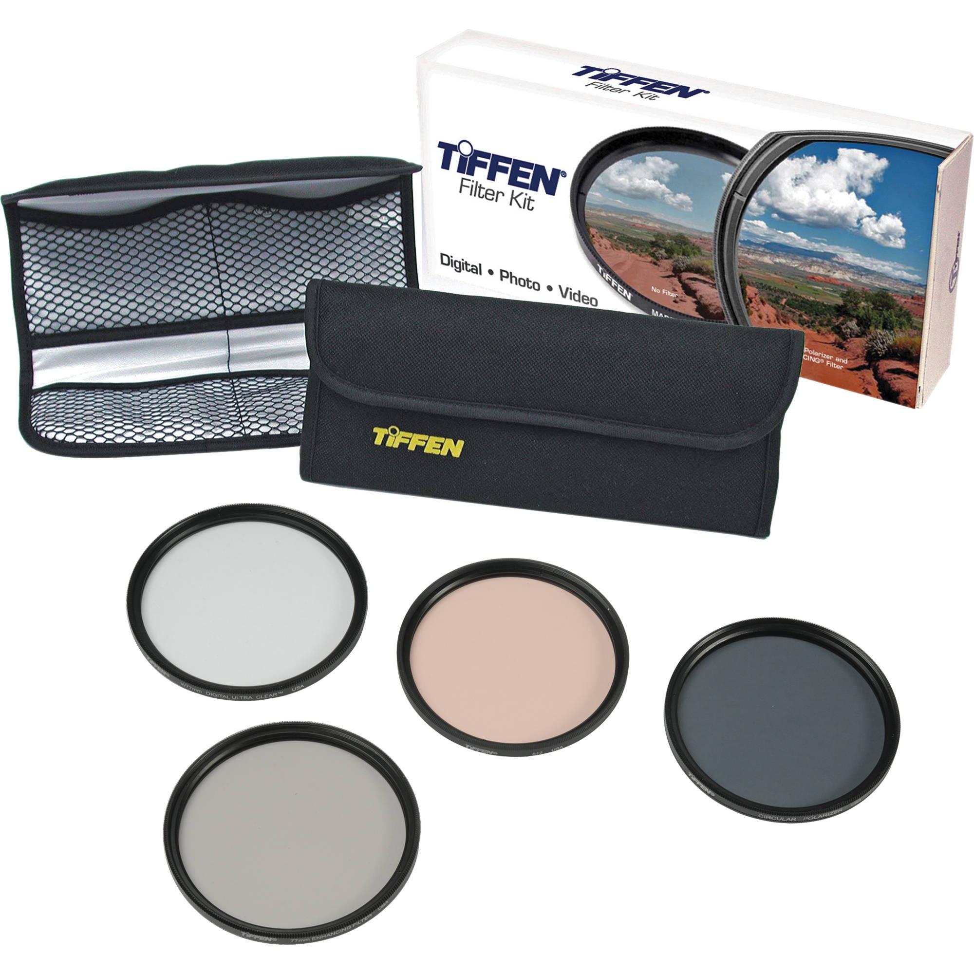 Tiffen 62mm Digital Enhancing Filter Kit