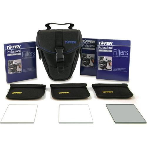 """Tiffen 4 x 5.6""""  (4mm thick) Digital Video  Film Look Kit 3"""
