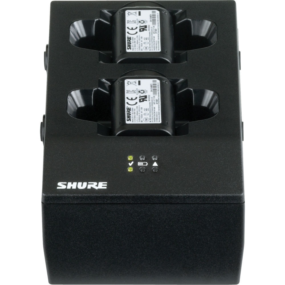 Shure SBC200 2-Bay Battery Charger