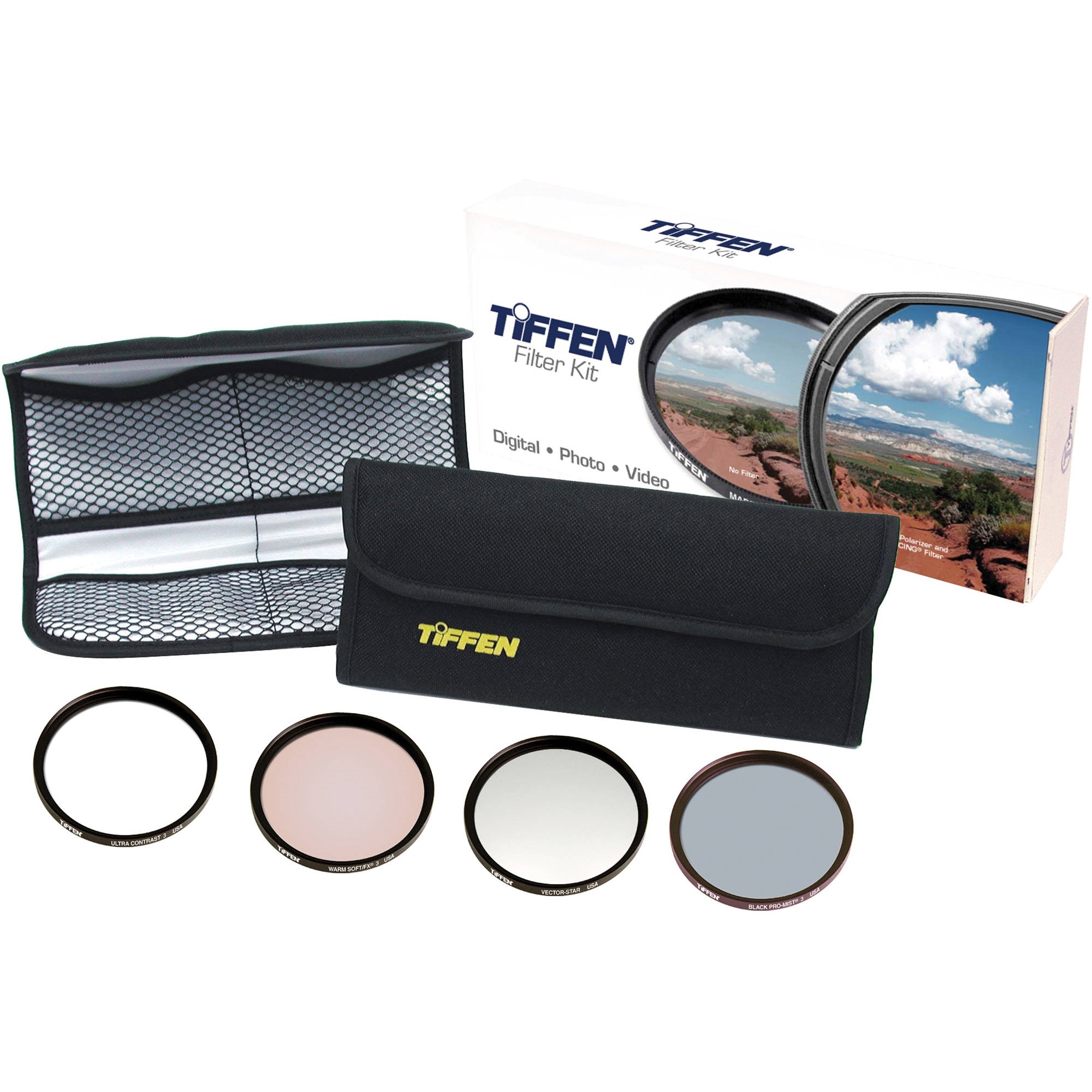 Tiffen 67mm Hollywood FX Classic Filter Kit