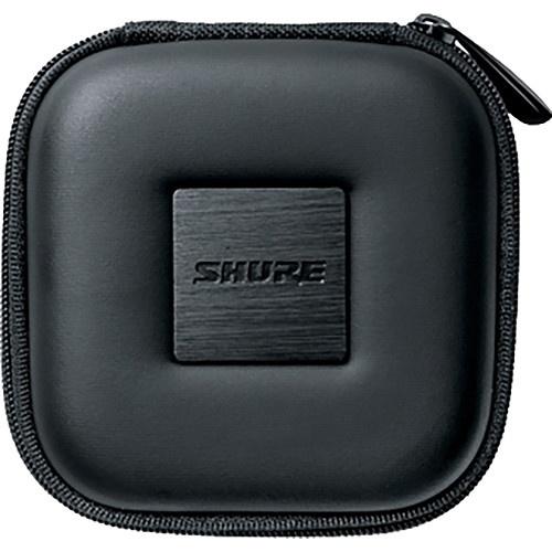 Shure Square Zippered Carrying Case for Shure Earphones (Black)