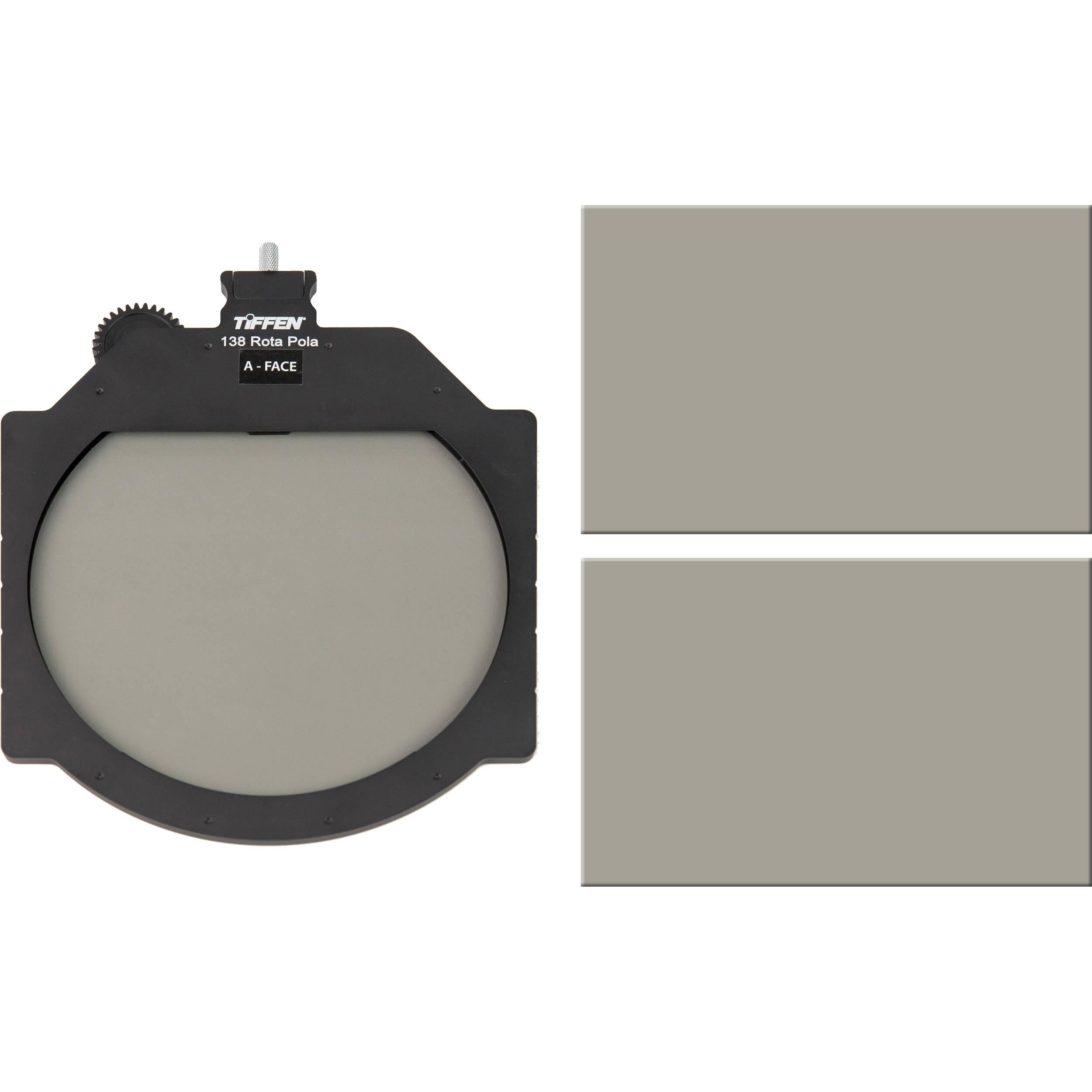 "Tiffen Multi Rota Tray Variable Neutral Density Kit with Extra 4x5.65"" Circular Polarizer"