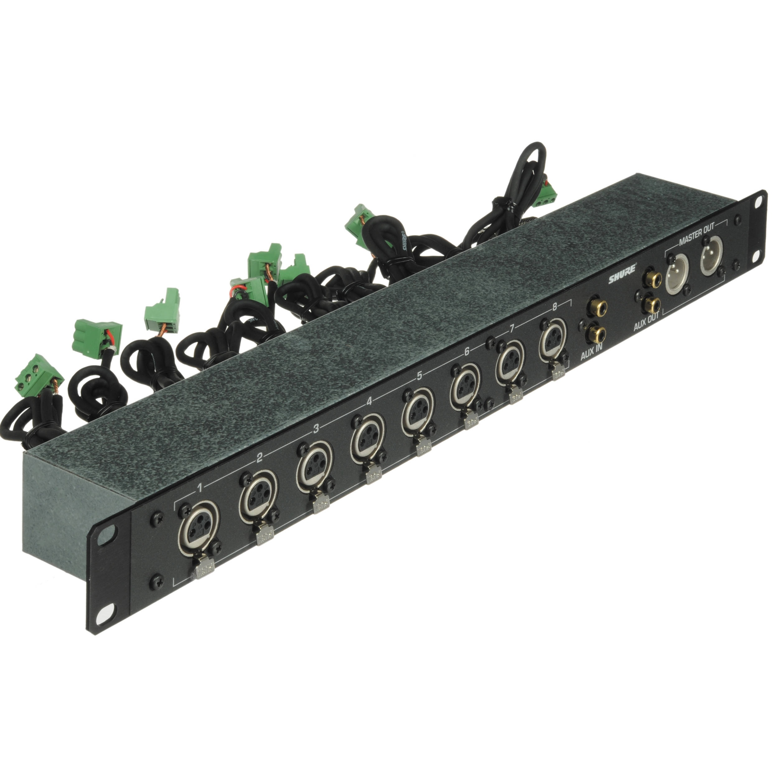 Shure RKC800 Rack Mountable XLR Expansion Kit for Shure SCM800 and 810 Mixers
