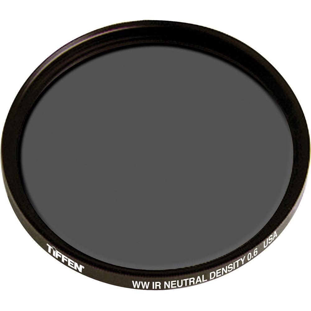 """Tiffen 4.5"""" Round Water White Glass IRND 0.6 Filter (2-Stop)"""