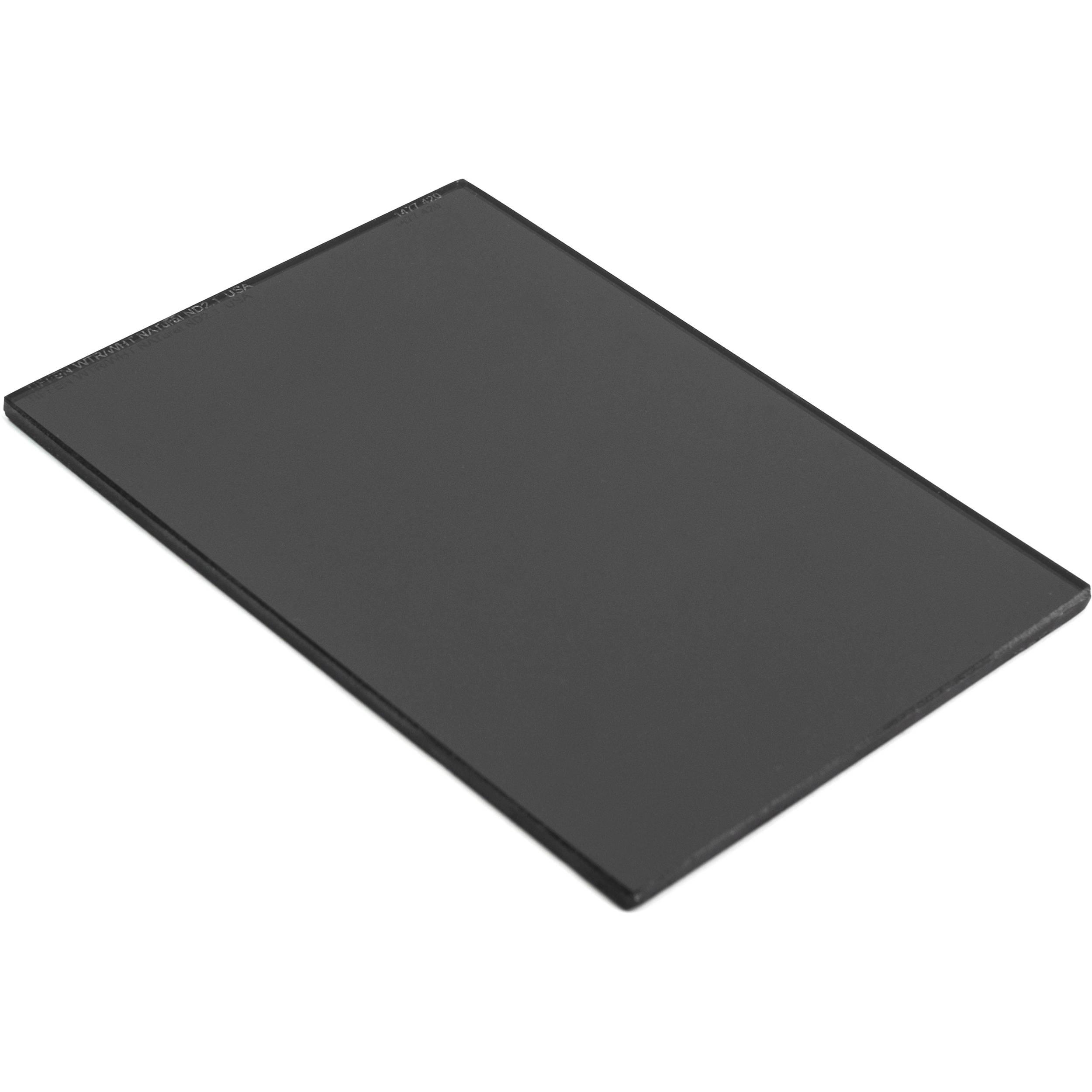 "Tiffen 4 x 5.65"" Water White ND 2.1 Filter (7-Stop)"