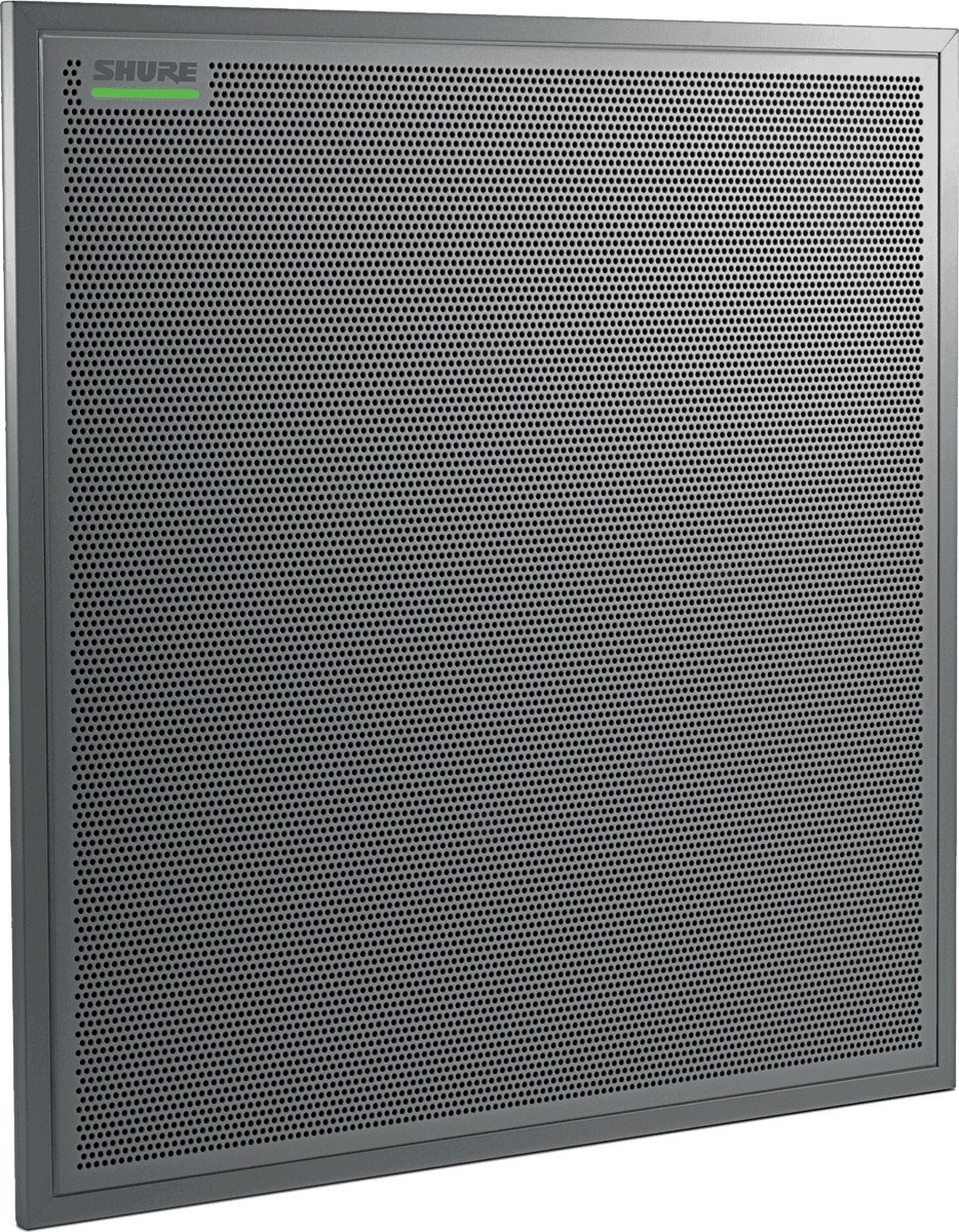 Shure MXA910 Ceiling Array Microphone with Intellimix (Aluminium)