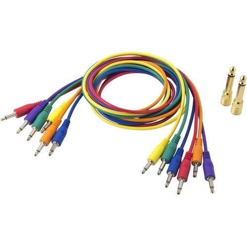 Korg SQ Patch Cables - (Bag of 6)